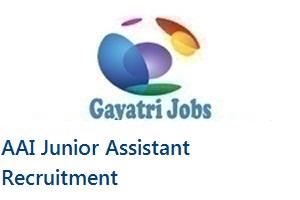 AAI Junior Assistant Recruitment