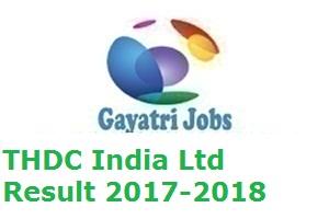 THDC India Ltd Result