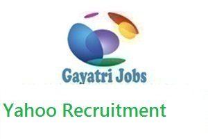 Yahoo Recruitment