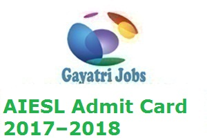 AIESL Admit Card