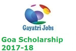 Goa Scholarship