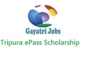 Tripura ePass Scholarship