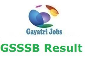 GSSSB Result
