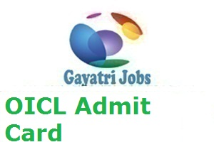OICL Admit Card