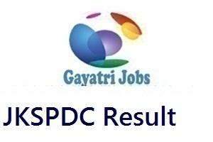 JKSPDC Result