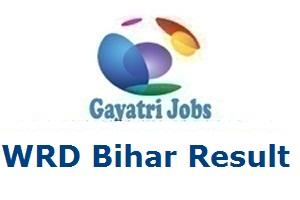 WRD Bihar Result