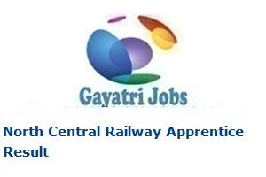 North Central Railway Apprentice Result