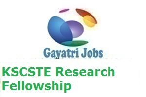 KSCSTE Research Fellowship