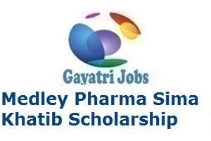 Medley Pharma Sima Khatib Scholarship