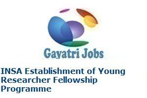INSA Establishment of Young Researcher Fellowship Programme