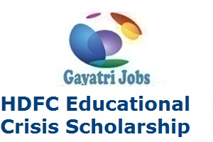 HDFC Educational Crisis Scholarship
