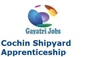 Cochin Shipyard Apprenticeship Merit List 2019 CSL Apprenticeship Result