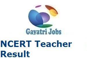 NCERT Teacher Result