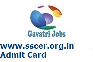 www.sscer.org.in Admit Card