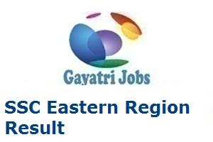 SSC Eastern Region Result