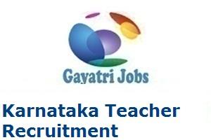 Karnataka Teacher Recruitment