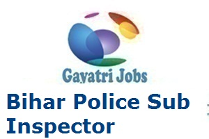 Bihar Police Sub Inspector Recruitment