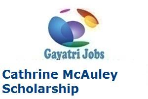 Cathrine McAuley Scholarship