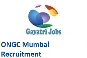 ONGC Mumbai Recruitment