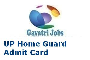UP Home Guard Admit Card