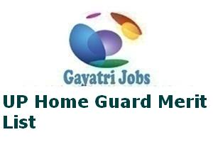 UP Home Guard Merit List