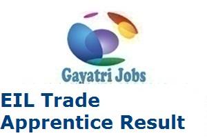 EIL Trade Apprentice Result