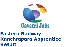 Eastern Railway Kanchrapara Result