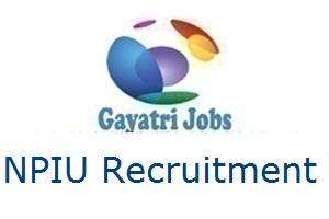 NPIU Recruitment
