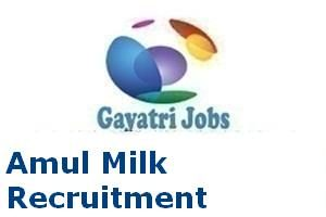 Amul Milk Recruitment