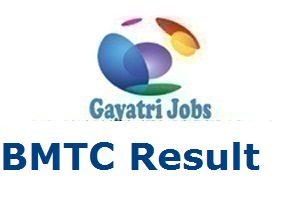 BMTC Result