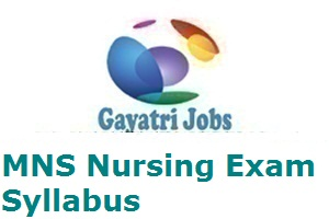 MNS Nursing Exam Syllabus 2019 Army B Sc Nursing Exam Pattern