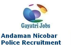 Andaman Nicobar Police Recruitment