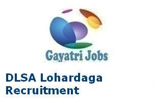 DLSA Lohardaga Recruitment