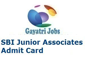 SBI Junior Associates Admit Card