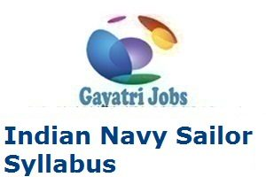 Indian Navy Sailor Syllabus