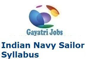 Indian Navy Sailor Syllabus 2019 Exam Pattern SSR for 02/2020 Batch
