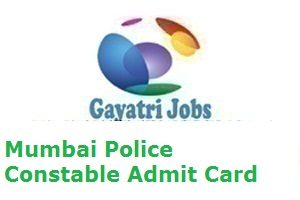 Mumbai Police Constable Admit Card
