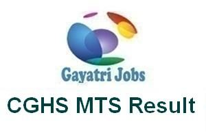 CGHS MTS Result