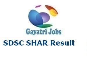 SDSC SHAR Result