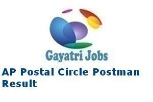 AP Postal Circle Postman Result
