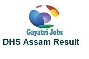 DHS Assam Result