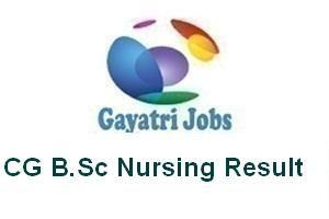 CG B.Sc Nursing Result