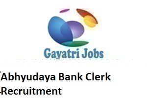 Abhyudaya Bank Clerk Recruitment 2018Apply Online by 20th April