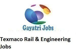 Texmaco Rail & Engineering Jobs