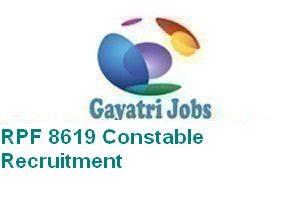 RPF 8619 Constable Recruitment