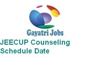 JEECUP Counseling Schedule Date
