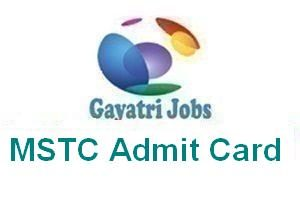 MSTC Admit Card