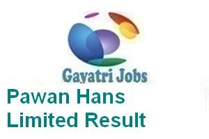 Pawan Hans Limited Result
