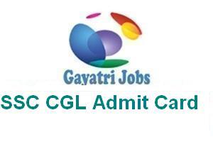 SSC CGL Admit Card