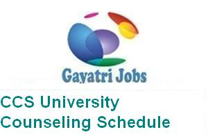 CCS University Counseling Schedule